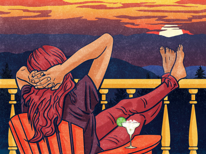 Blue Ridge Country Magazine Illustration